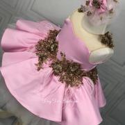 Fancy Dress – Tiny Toes Boutique LLC Pink Sequin Dress, Jasmine Dress, Real Princess, Party Lights, Handmade Dresses, Fancy Dress, Dress Making, Beautiful Dresses, Tulle