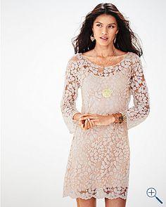 T-Los Angeles Lace Shift Dress, $49