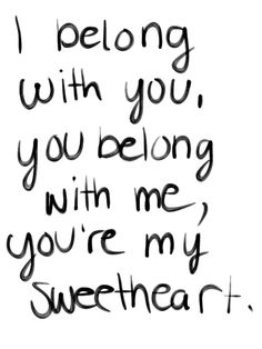 This is how I feel about my sweetheart! He means the world to me and I love him so incredibly much!<3