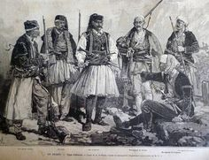 Different types of Albanian costumes