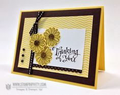 Stampin up stampinup order pretty best of flowers circle punch sympathy card idea catalog