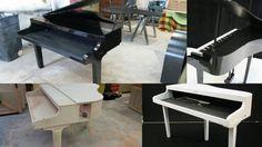 Piano shells for housing a digital piano. Buy one at keyholeshells.com