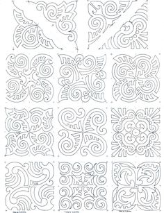 maori moko block set composite works for a soutache pattern tattoo pattern Maori Moko Blocks Maori Designs, Geometric Designs, Geometric Art, Motif Soutache, Soutache Pattern, Paper Embroidery, Embroidery Patterns, Maori Tattoos, Art Maori