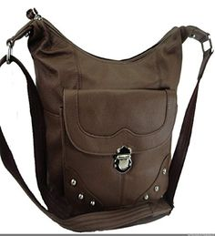 Concealed Carry Handbag Gun Concealment Purse Left/Right Hand 7005 BROWN *** Click on the image for additional details.