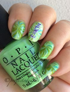 Here is my entry to #watermarblepracticewed and #clairestelle8april #earthdaynails  Products: @opi_finland You are so outta line! Landscape artist and Can't find my chechbook @lumenefinland Walk in the grass . #projectodeunas #excitingnailartcreations #uñas #uñaslindas #uñasbellas #unhas #unhaslinda #unhasdecoradas #watermarblenailart #watermarblenails #wmpw2017 #watermarble #kynnet #kynsikoristelut #vernisàongles #esmaltesdeuñas #greennails #naillacquer #nailchallenge