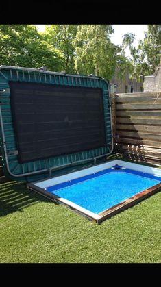 Pool Spa, Diy Pool, Small Pools, Small Backyard Landscaping, Pool Backyard, Above Ground Pool, In Ground Pools, Swimming Pool Designs, Swimming Pools