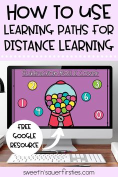 Digital learning paths are such a fun, interactive way to teach any academic skills from scaffolding to mastery. Perfect for distance learning, I have created a digital learning path for subtraction that my students love! This digital subtraction resource includes a mini lesson, engaging learning activities such as digital task cards, assessments, and more!