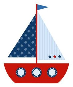 Sailboat clipart 3 sailboat in water clip art sailboat Nautical Banner, Nautical Party, Baby Shower Marinero, Sailor Birthday, Sailor Theme, Diy And Crafts, Paper Crafts, Baby Shawer, Boy Quilts