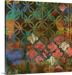 """""""Bohemian Vintage"""" by Smith Haynes via @greatbigcanvas at GreatBIGCanvas.com."""