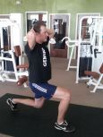 Lunges can be done with just your body weight - in a gym or at home