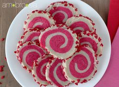 Spiral slice and bake cookies - so pretty, yet so easy to make!