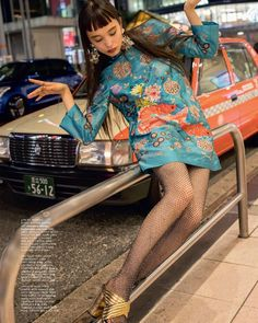 Find out more about Japan's most contemporary IT-girl; these are the 5 things to know about Yuka Mannami. R80, Poses References, Cool Outfits, Fashion Outfits, Japanese Street Fashion, Japanese Street Styles, Facon, Swagg, High Fashion