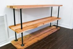 Image result for flange and pipe bookcase