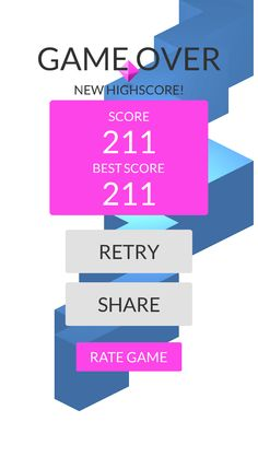 OMG!Imade 211 zigzags playing #ZigZag https://itunes.apple.com/app/id951364656