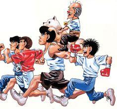 Manga news - Dossier Ippo - MORIKAWA George - Partie 1