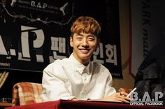 BANG YONG GUK @ CD Signing event of B.A.P during the promotion of ONE SHOT
