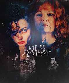 Molly and Bellatrix Fight    Molly Weasley  Bellatix Lestrange    Not my daughter you bitch!