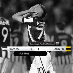 #PAOKAEK 0-1 #SuperLeague #PlayOffs