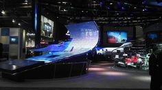 LED display for Premier Displays and Hondajet at NBAA 2011 in Las Vegas, NV. See more at (www.avdimensions.com).