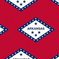 Smartphone Case - State Flag of Arkansas  - Patchwork  Large