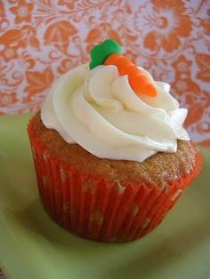 Carrot Cake Cupcakes With Orange Ginger Cream Cheese Frosting Best Cupcake Recipe