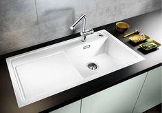 Fregaderos de cocina: ?sobre encimera o bajo encimera? | Decorar tu casa es facilisimo.com