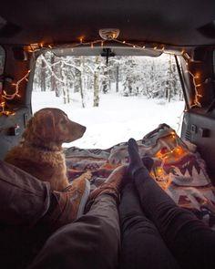 of This looks like life! Life in your van in the . - Jealous of This looks like life! Life in your van in the … -Jealous of This looks like life! Life in your van in the . - Jealous of This looks like life! Life in your van in the … - Van Life . Camping 3, Winter Camping, Camping Hacks, Travel Hacks, Adventure Awaits, Adventure Travel, Adventure Gear, Tenda Camping, Foto Instagram