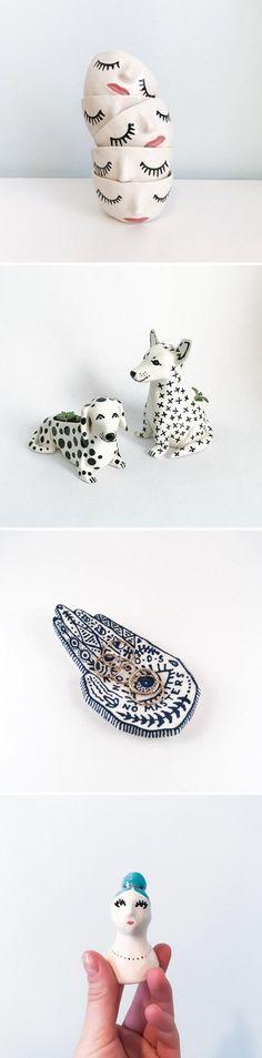 Ceramics by Megan Burke / on the Blog!