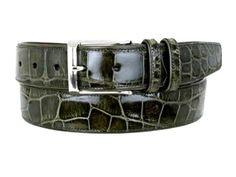 Mezlan Men's Ostrich Premium Belt http://www.shopluxuriously.com #Ostrich #Belt #Mens #menswear #Mezlan #Belts #Premium