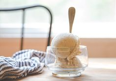 One Ingredient Banana Ice Cream @dessertfortwo