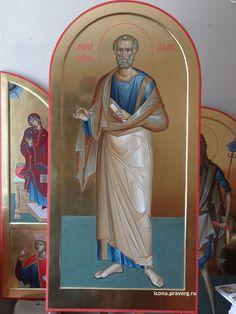 Byzantine Art, Orthodox Icons, Fresco, Saints, Princess Zelda, Christian, Statue, Fictional Characters, Ideas