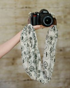 DSLR Camera Strap Bicycles by ImaniStudio on Etsy