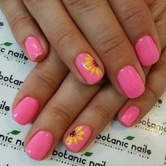 Welcome the sunny season with these bright, summery nail art designs. Welcome the sunny season with these bright, summery nail art designs. Fingernail Designs, Diy Nail Designs, Nail Designs Spring, Summer Pedicure Designs, Toenail Art Designs, Bright Nail Designs, Cute Summer Nail Designs, Simple Nail Designs, Cute Spring Nails