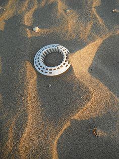 plastic sand