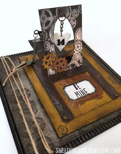 SanDee & amelie's Steampunk Challenges: Top5 and Prize Winner from our January Challenge