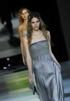 Vestito grigio di Giorgio Armani