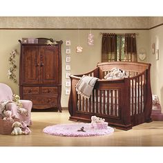 madison sleigh convertible crib.