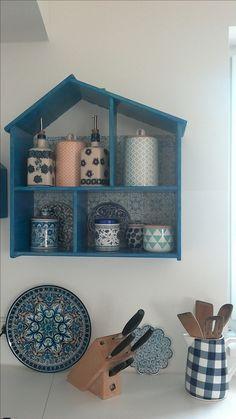 Ikea Flisat als Küchenregal