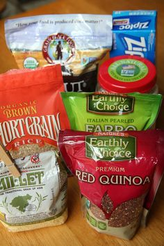 Pin for Later: 10 Vegan Ingredients You Should Have in Your Pantry at All Times Grains