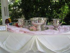 Silver for weddings is always in style www.whitlockinn.com 770-428-1495
