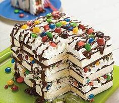 Ice Cream Sandwich Cake | The World According to Sylvia Garza