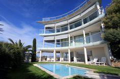 Photo d'une villa à #Cannes pour une agence immobilière. Photo #immobilier