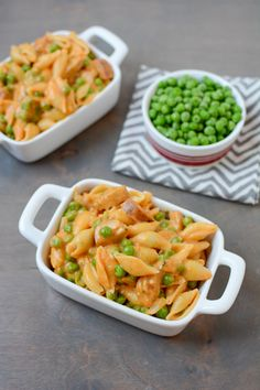 This recipe for Stovetop Mac and Cheese with Sausage and Peas is quick, easy and kid-friendly. Perfect for dinner on a busy night!