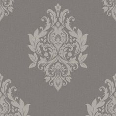 Dutch Wallcoverings Dutch Trendy Classics Barok behang in grijs