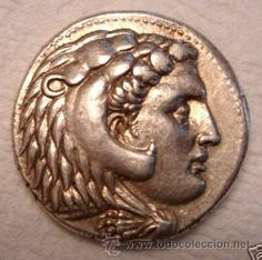 Moneda Griega : Reyes de Macedonia - Tetradracma de Plata - ALEJANDRO MAGNO 336-232 a.C - EBC J77
