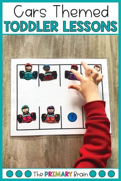 Car themed toddler activities are great for keeping little hands busy! These car themed lesson plans keep busy toddlers