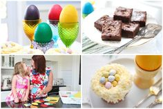 Easter Baking and Crafty Things - - Alice in Bakingland Egg Hunt, Easter Eggs, Smoothies, Alice, Craft Ideas, Treats, Crafty, Baking, Breakfast