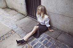 5 inch and up x River Island - Mikko Puttonen 5 Inch And Up, Shirt Blouses, River Island, Leather Skirt, Thighs, Midi Skirt, Style Inspiration, Skirts, How To Wear