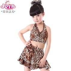 Free shipping to Aust. Child Latin dance costume female child leopard print performance wear leotard child dance clothes US $19.85 http://www.aliexpress.com/item/Child-Latin-dance-costume-female-child-leopard-print-performance-wear-leotard-child-dance-clothes/1241864240.html