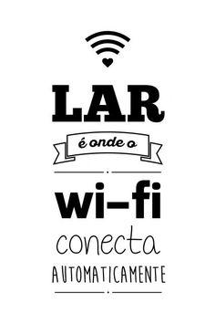 Poster - Wi-fi White